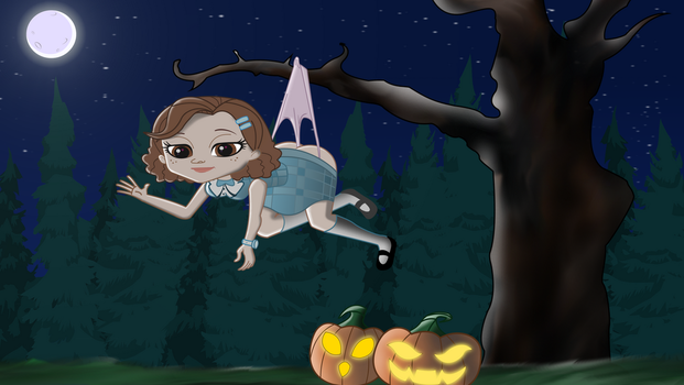 Madison's Halloween Hangtime! by REMcMaximus
