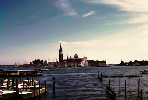 Isola San Giorgio from Venice by 1Eres