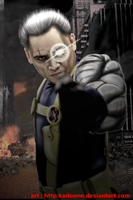 Cable cosplay.. photomanipulation by karlonne
