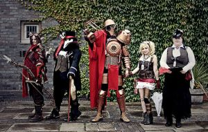 Group shot at Amecon 2010 by The-Clockroaches