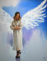 Angel of the moment by Spoonygee