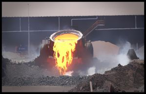 Slag Pot - Whyalla by AWorger
