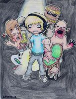 Pewdiepie And Friends by Thalia-TW