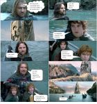 Lord of the Rings Comic 4 by ashantiwolfrider