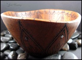 Staraja Wooden Offering - Meditation Bowl by andromeda
