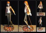 Steins,Gate - Makise Kurisu - Papercraft by Luyomi333