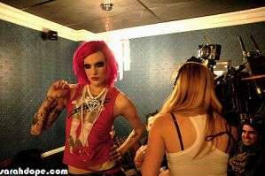 Jeffree Star for Much Music by sarahdope