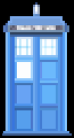 16-bit Tardis by The-Great-Radio