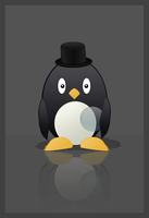 A penguin by icollectpennies