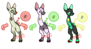 First Set of Kinroo Adopts by SecretMonsters