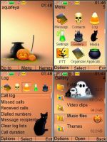 Halloween Nokia Theme s40 3d by Aquafeya