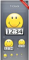 Icon T-Clock by ncrow