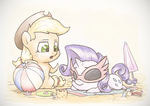 Sunny Little Summerponies by AssasinMonkey