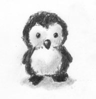 Chibi Penguin by CrAze-Kun