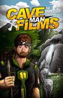 CavemanFilms Poster by FinsGraphics