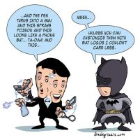 James Bond and Batman by iliaskrzs