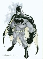 Stylized Batman by aaronlopresti