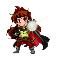 Chibi Series- OAV Lina by ThreeTwo