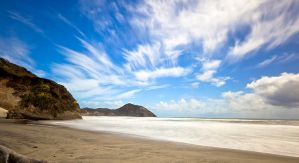 wharariki beach by MysTicPies