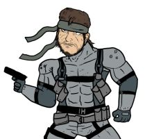 Another Solid Snake by Agent-Jin