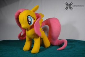 Custom Fluttershy with movable head and wings 3 by Oblitor