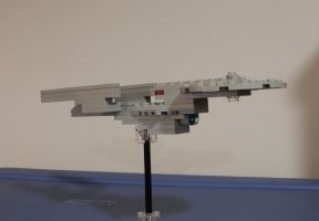 Lego UFP Excelsior Class Starship by rlkitterman