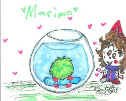 Marimo  by Kittychan2005