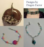Jewelry Designs by Dragon-Factor