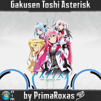 Gakusen Toshi Asterisk Anime Icon by PrimaRoxas