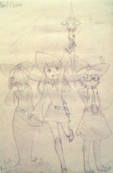 Little Witch Academia sketch by Blooding424