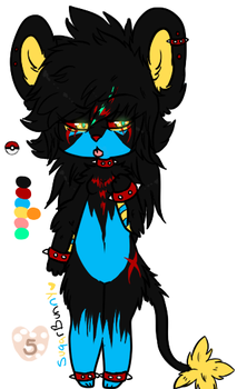 Luxray adopt: closed by suqarbunny