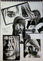 Kurt Cobain by bellamyribeiro
