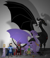 Character Lineup by jaunty-eyepatch