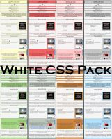 White CSS Pack by MaskedVengeance