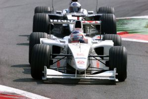 Rubens Barrichello | David Coulthard (1999) by F1-history