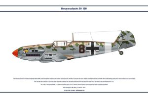Bf 109 E-7 JG27 1 by WS-Clave