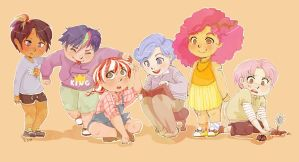 Childhood [mlp next gen] by Nika-Tachikawa