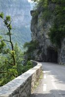 Old road tunnel in Massif of Vercors 2 by A1Z2E3R