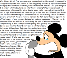Mickey's complaint to Disney by Maxtaro