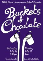 Buckets of Chocolate poster by tang-mu
