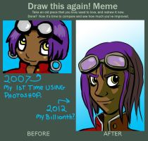 Draw this again meme by starlightv