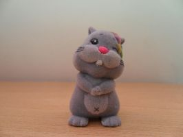 Toy Hamster by tracysuzanne