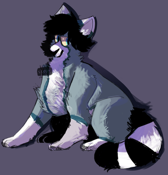 Collieh by SkeleScribbles
