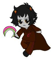 Chibi Karkat - Knight of Blood Flat by ForeverRoseify