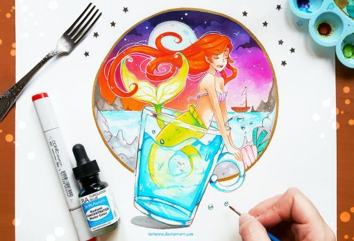 +Ariel - Part of Your World+ by larienne