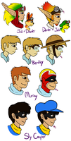 Jak and Sly Related Profiles by SnookumsGal