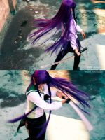 HIGHSCHOOL OF THE DEAD_Saeko5 by kuvolcano