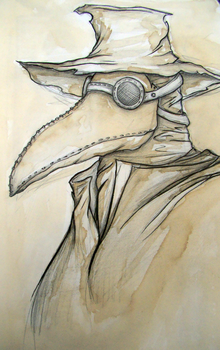 Plague Doctor by JuliaMP