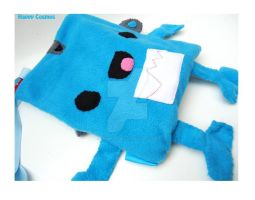 Blue Robot Bag by CosmiCosmos