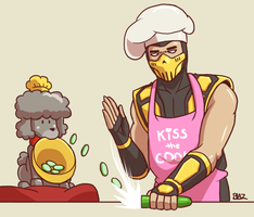 Cooking with Dog and Scorpion by Blazbaros